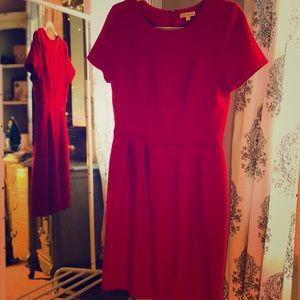 NWOT Red Waist Flattering Shoshanna Dress Size 4